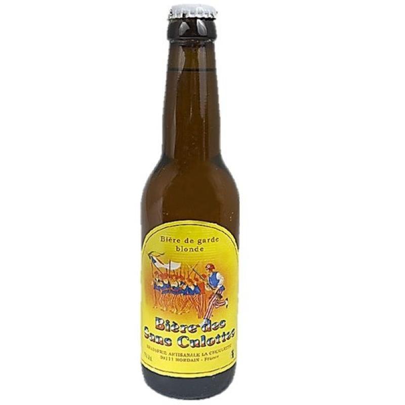 biere - BIERE DES SANS CULOTTES BLONDE 0.33L - Planète Drinks