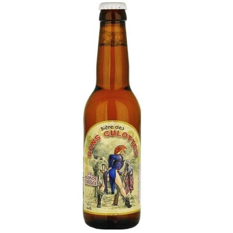 biere - BIERE DES SANS CULOTTES BLONDE CORSEE 0.33L - Planète Drinks