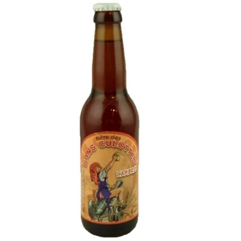 biere - BIERE DES SANS CULOTTES  AMBREE 0.33L - Planète Drinks