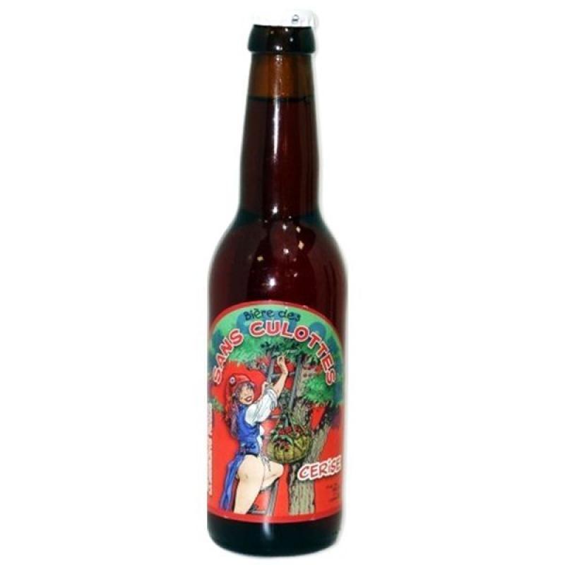 biere - BIERE DES SANS CULOTTES CERISE 0.33L - Planète Drinks