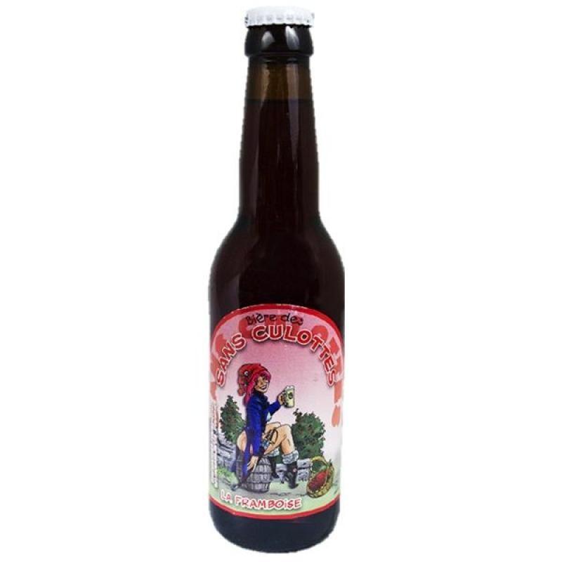 biere - BIERE DES SANS CULOTTES FRAMBOISE 0.33L - Planète Drinks