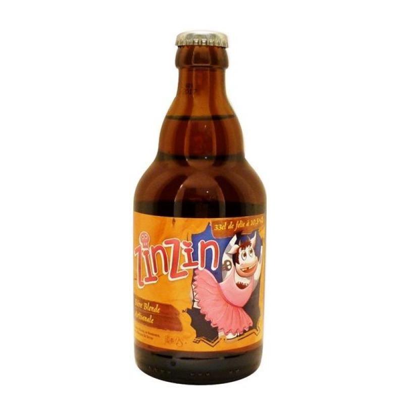 biere - DE SUTTER ZINZIN BLONDE 0.33L - Planète Drinks