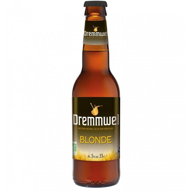 biere - DREMMWEL BLONDE BIO 0.33L - CERTIFIE FR-BIO-01 - Planète Drinks