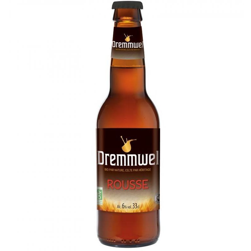 biere - DREMMWEL ROUSSE BIO 33CL - CERTIFIE FR-BIO-01 - Planète Drinks