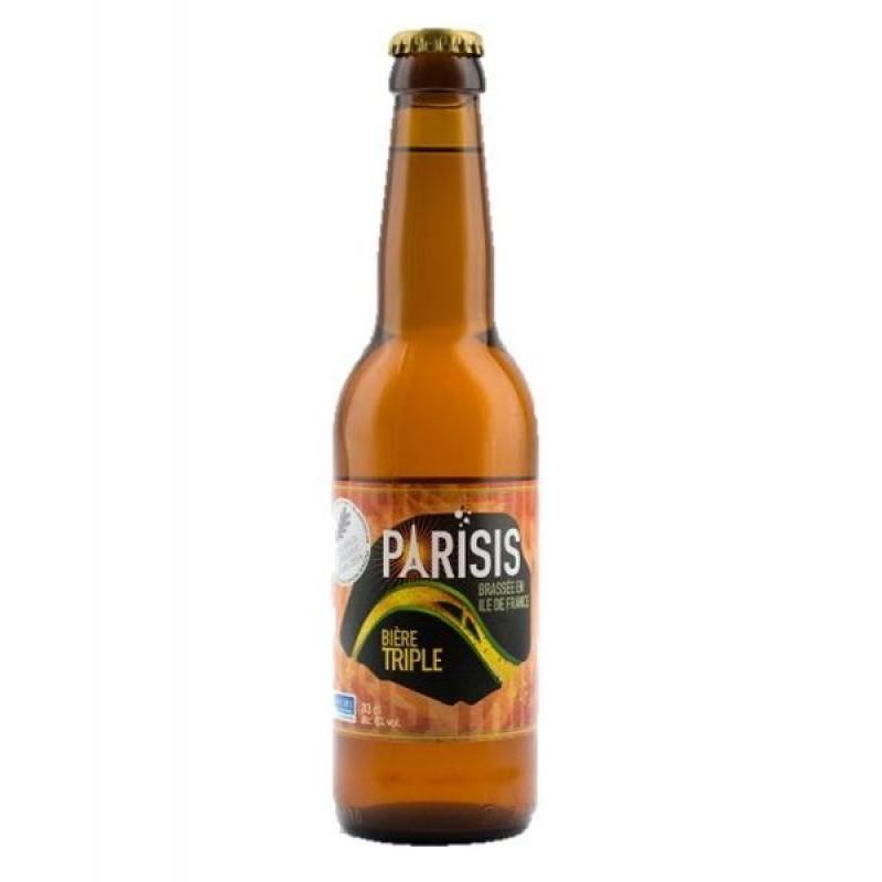 biere - PARISIS TRIPLE 0.33L - Planète Drinks