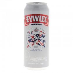 biere - ZYWIEC 0.50L CAN - Planète Drinks