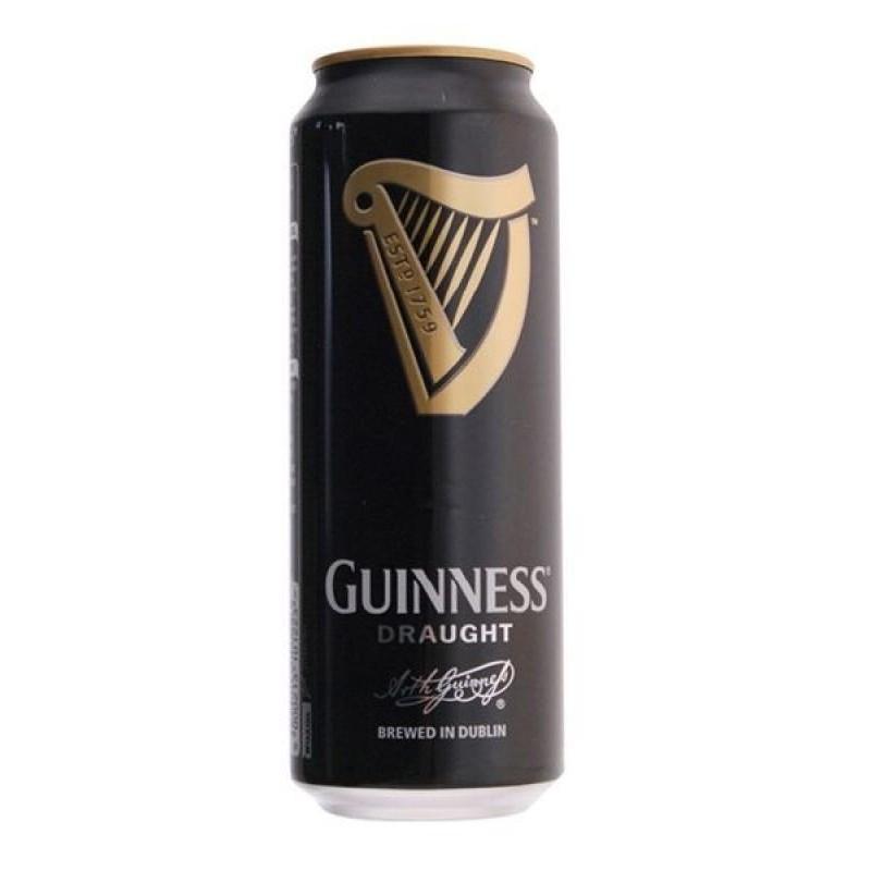 biere - GUINNESS DRAUGHT 0,50L CAN - Planète Drinks