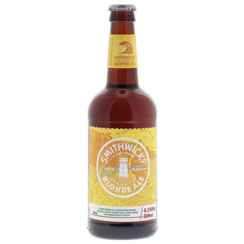biere - SMITHWICKS BLONDE 50CL - Planète Drinks