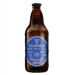 biere - GUINNESS RYE PALE ALE 0.50L*8 - Planète Drinks