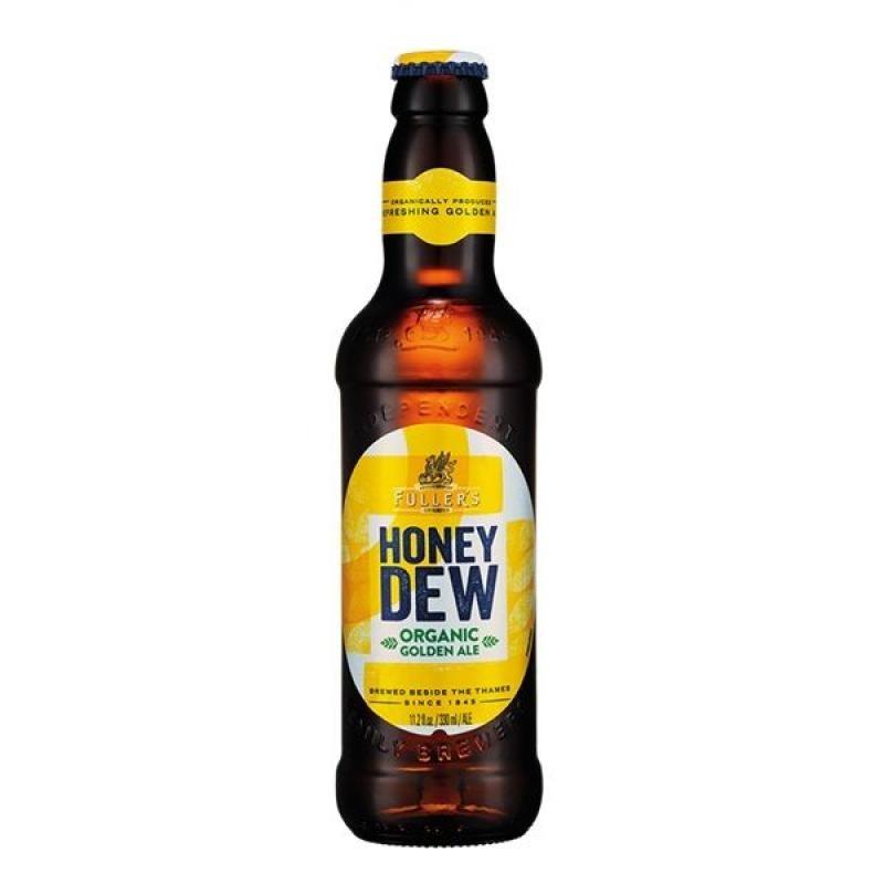 biere - FULLERS ORGANIC HONEY DEW 33CL - CERTIFIE FR-BIO-01 - Planète Drinks