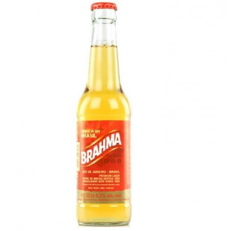 biere - BRAHMA 33CL - Planète Drinks