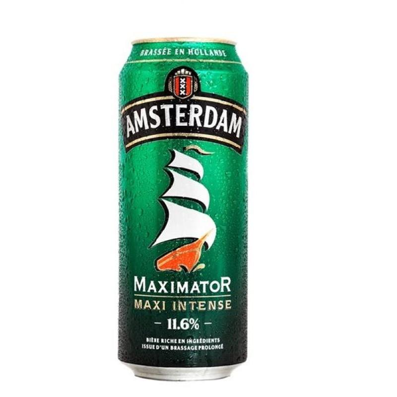 biere - AMSTERDAM MAXIMATOR 0,50L CAN - Planète Drinks