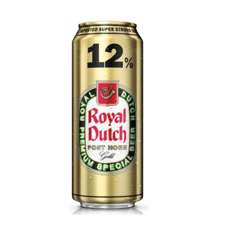 ROYAL DUTCH POST HORN 50CL CAN 12°