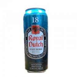 biere - ROYAL DUTCH POST HORN 0,50L CAN 18° - Planète Drinks