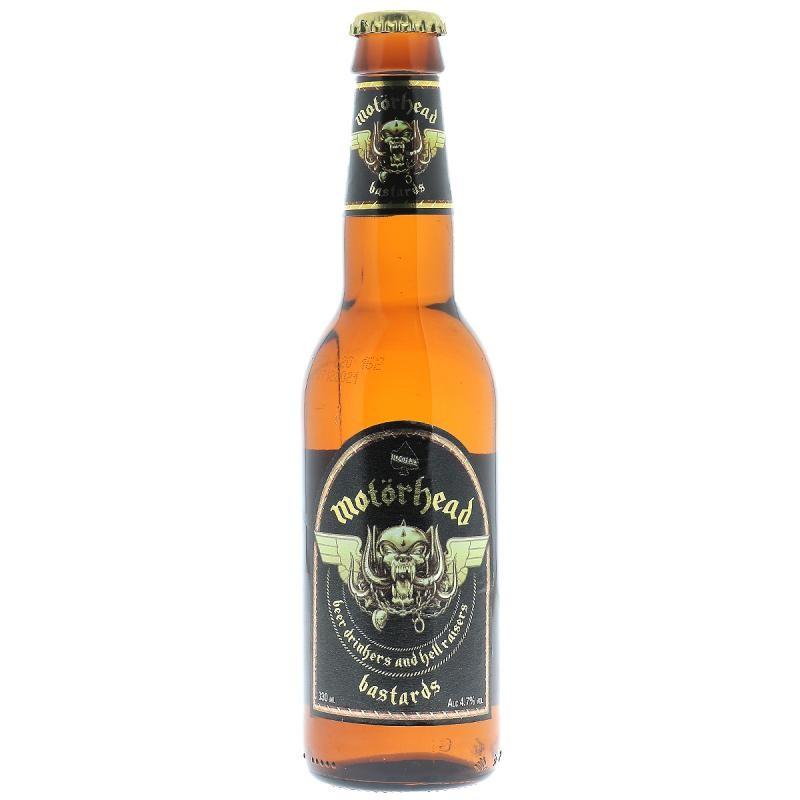 biere - MOTORHEAD BASTARDS LAGER 0,33L - Planète Drinks