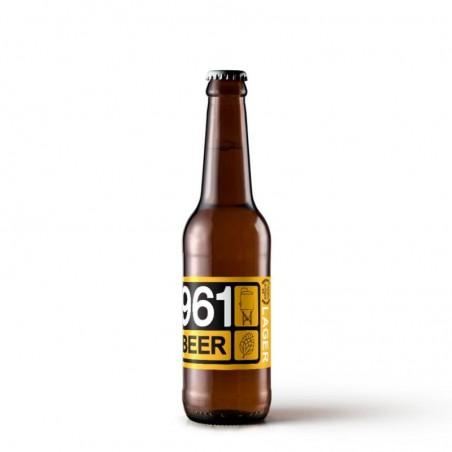 biere - 961 BEER LAGER 0.33L - Planète Drinks