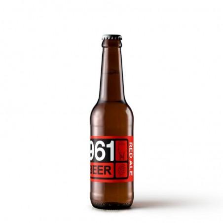 biere - 961 BEER RED ALE 33CL - Planète Drinks