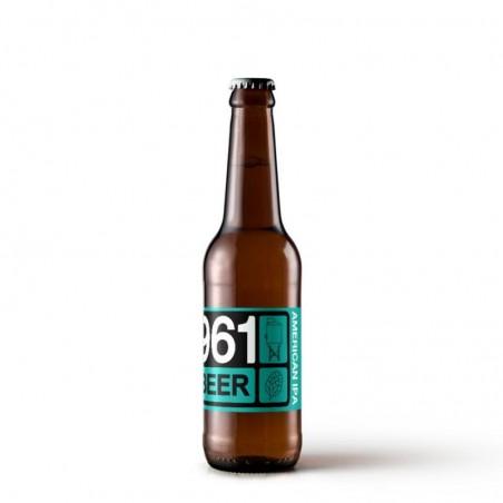 biere - 961 BEER AMERICAN IPA 0.33L - Planète Drinks