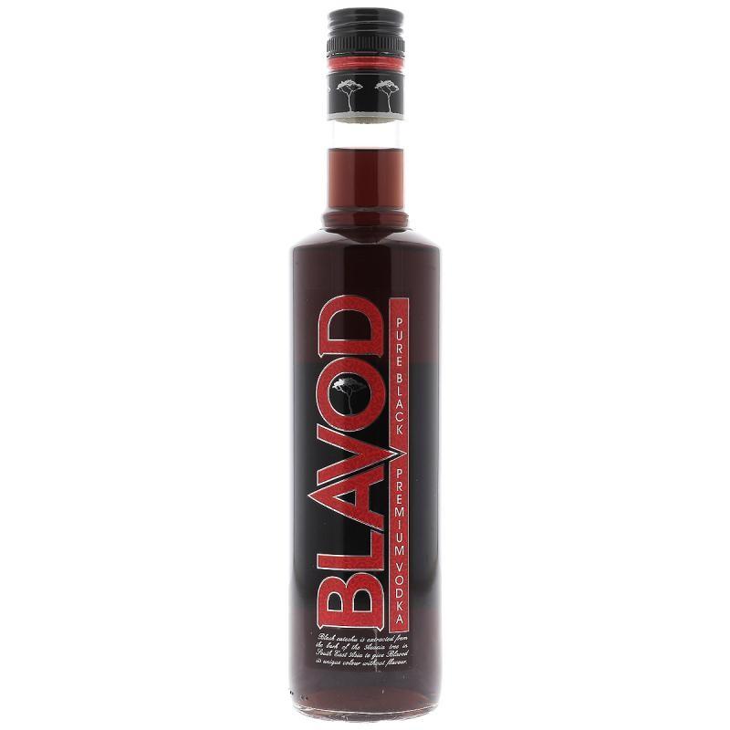 VODKA - BLAVOD PREMIUM BLACK VODKA 50CL - Planète Drinks