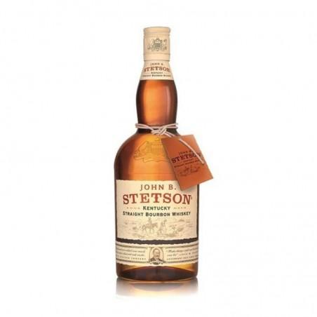 VERRE STETSON STRAIGHT BOURBON WHISKY 4CL