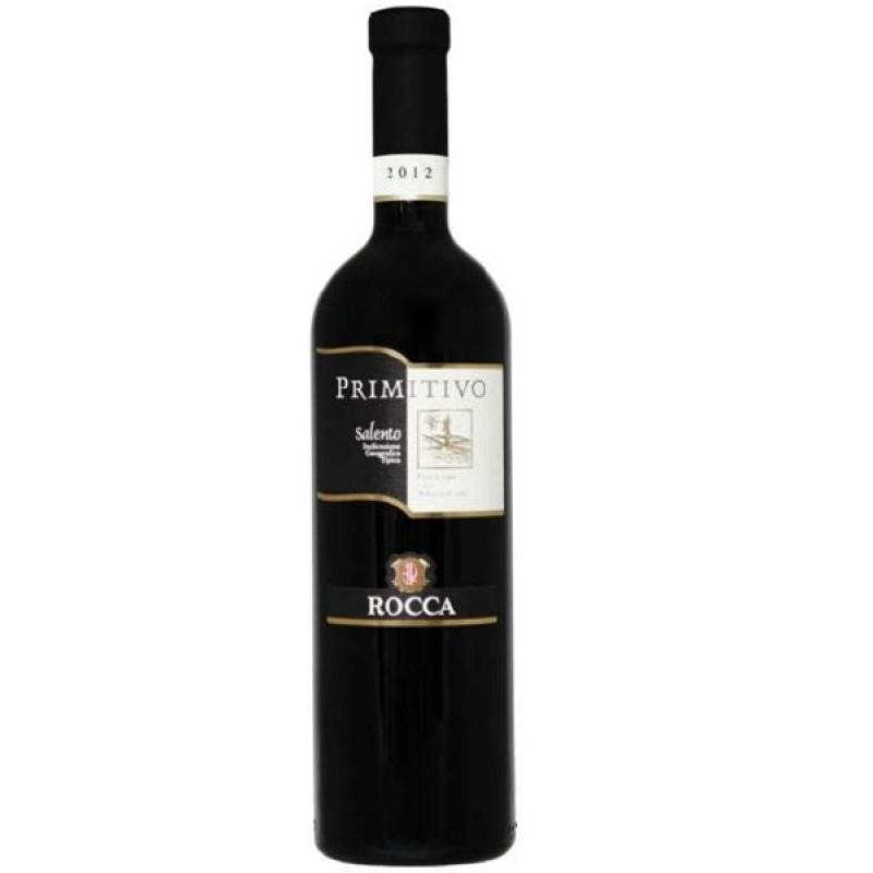 VIN - ROCCA PRIMITIVO SALENTO 75CL - Planète Drinks