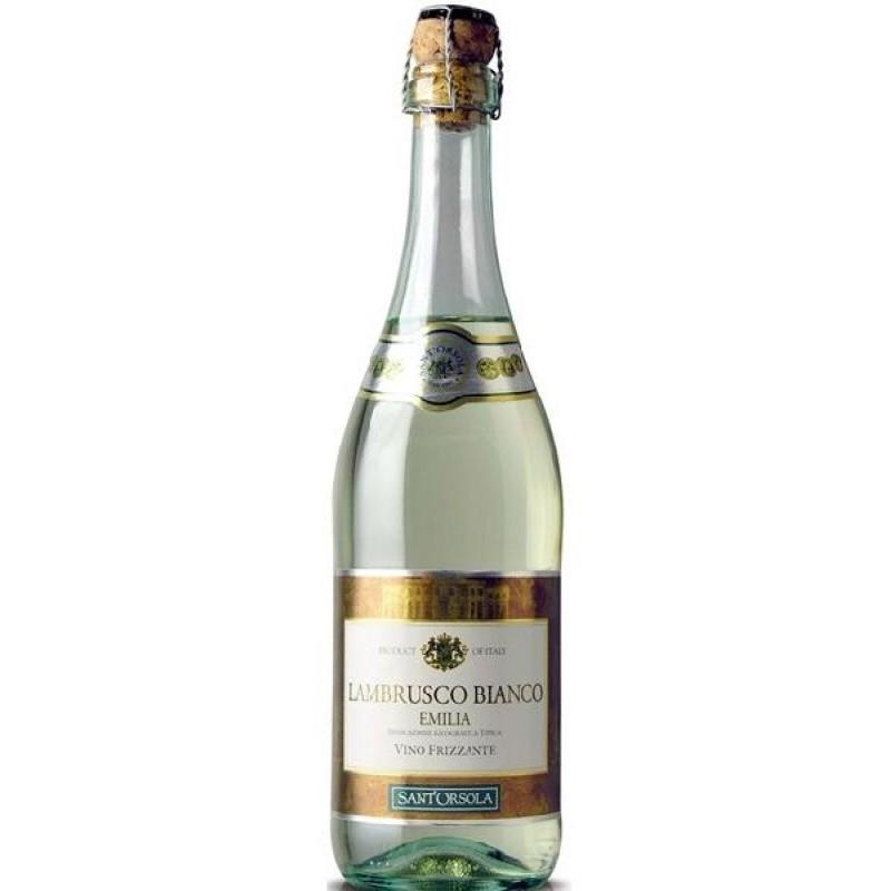 VIN - SANT ORSOLA LAMBRUSCO ROUGE 75CL - Planète Drinks