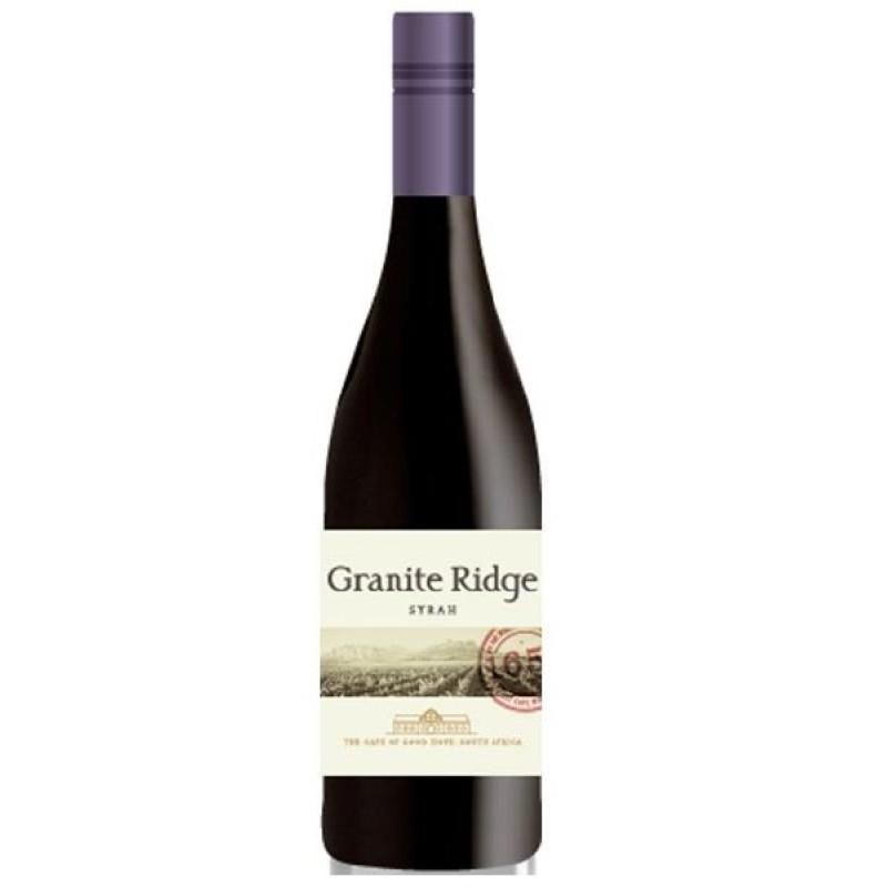 VIN - GRANITE RIDGE SYRAH 75CL - Planète Drinks