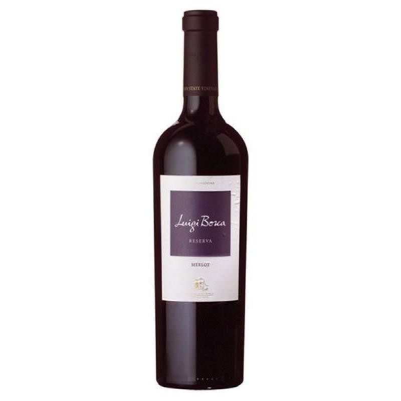 VIN - LUIGI BOSCA RESERVA MERLOT 75CL - Planète Drinks
