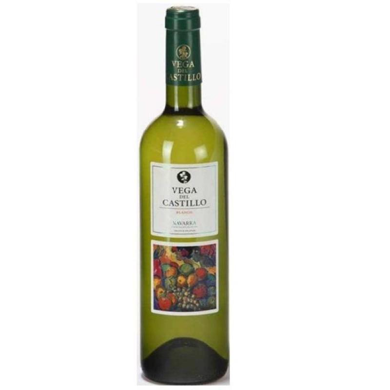 VIN - VEGA DEL CASTILLO VIURA CHARDONNAY NAVARRA 75CL - Planète Drinks