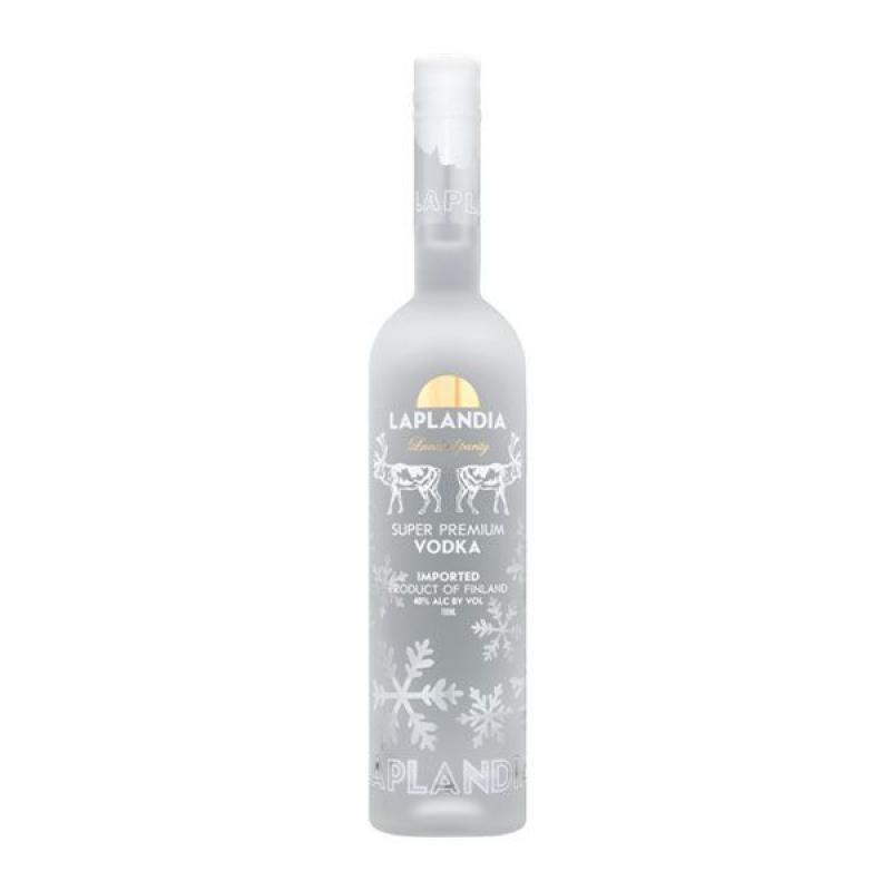VODKA - LAPLANDIA SUPER PREMIUM VODKA 70CL - Planète Drinks