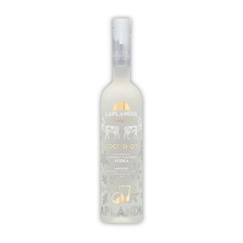 VODKA - LAPLANDIA COCO VODKA SUPER PREMIUM 70CL - Planète Drinks