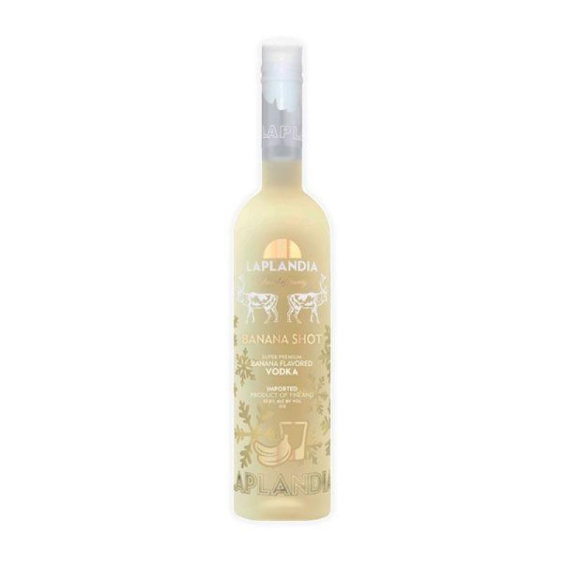 VODKA - LAPLANDIA BANANA VODKA SUPER PREMIUM 70CL - Planète Drinks