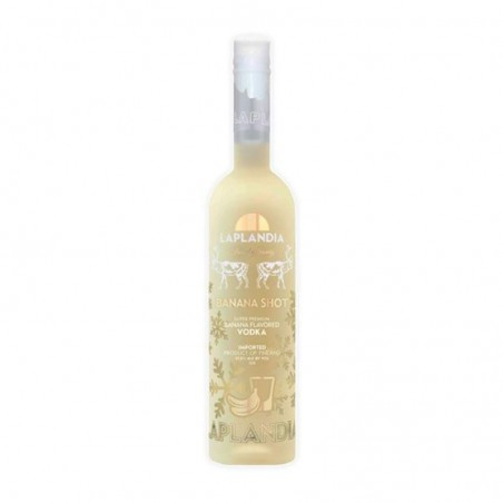 LAPLANDIA BANANA VODKA SUPER PREMIUM 70CL