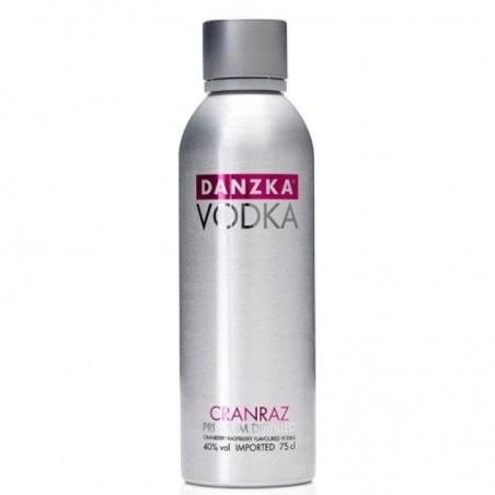 VODKA - DANZKA VODKA CRANRAZ 1L - Planète Drinks