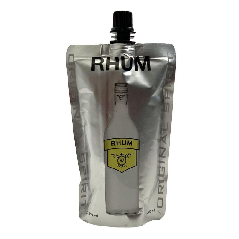 RHUM - 7&7 RHUM DOYPACK 20CL - Planète Drinks