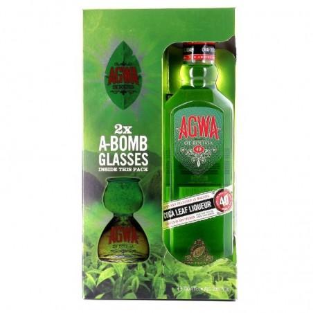 COFFRET ALCOOL - AGWA LIQUEUR COFFRET 70CL - Planète Drinks