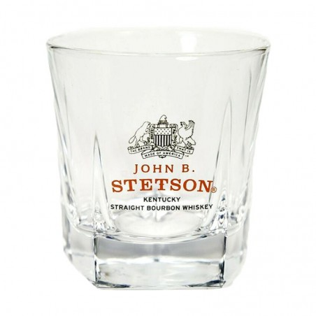 VERRES A SPIRITUEUX - VERRE STETSON STRAIGHT BOURBON WHISKY 4CL - Planète Drinks