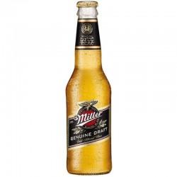 biere - MILLER GENUINE DRAFT 33CL - Planète Drinks