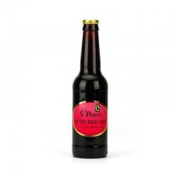 biere - ST PETER'S RUBY RED ALE 0.33L - Planète Drinks