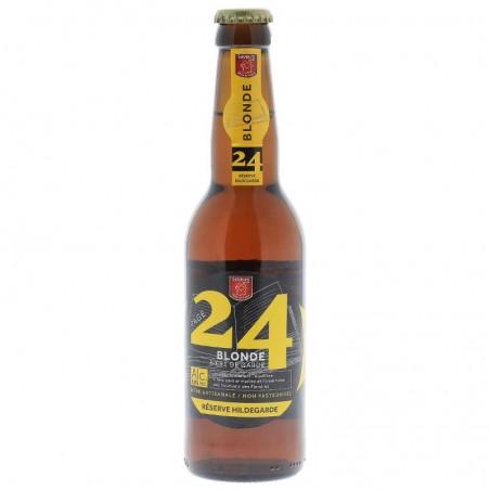 biere - PAGE 24 HILDEGARDE BLONDE 0.33L - Planète Drinks