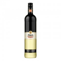 BLACK TOWER FRUITY WHITE 75CL