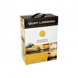 VIN - QUAY LANDING COLOMBARD CHARDONNAY AUSTRALIE 3L - Planète Drinks