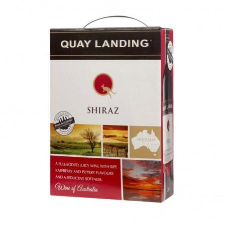 VIN - QUAY LANDING SHIRAZ AUSTRALIE BIB 3L - Planète Drinks