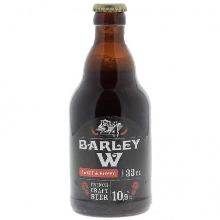 biere - PAGE 24 BARLEY WINE BLACK EDITION 0.33L - Planète Drinks