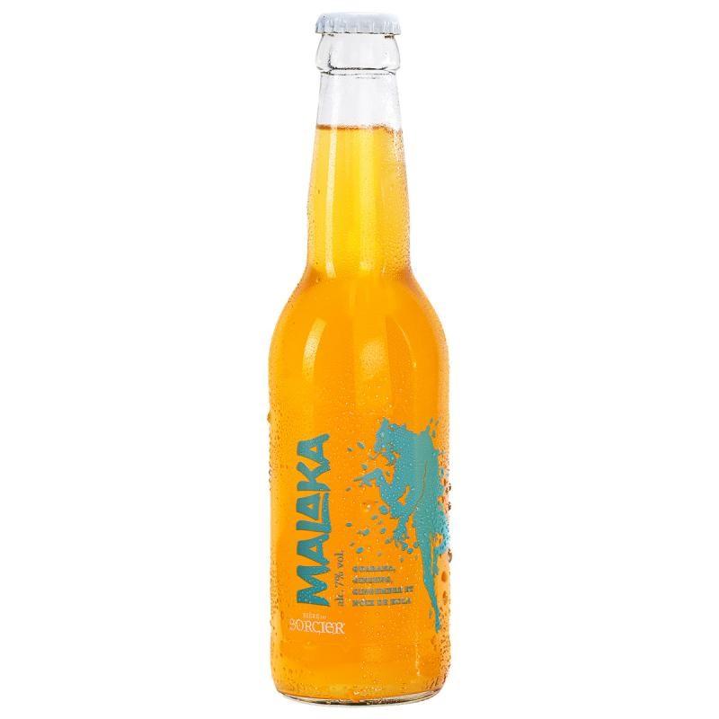 biere - BIERE DU SORCIER MALAKA 33CL - Planète Drinks