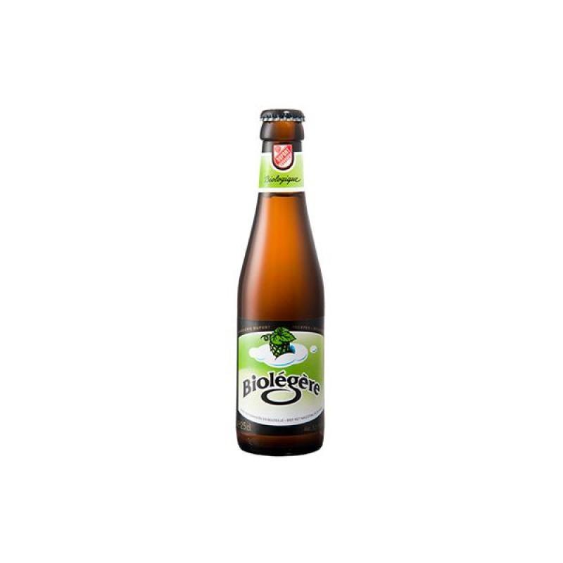 biere - BIOLEGERE 0.25L - CERTIFIE FR-BIO-01 - Planète Drinks