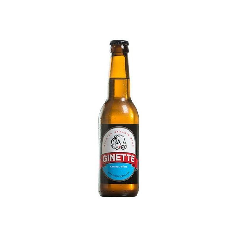 biere - GINETTE WHITE 0.33L - CERTIFIE FR-BIO-01 - Planète Drinks