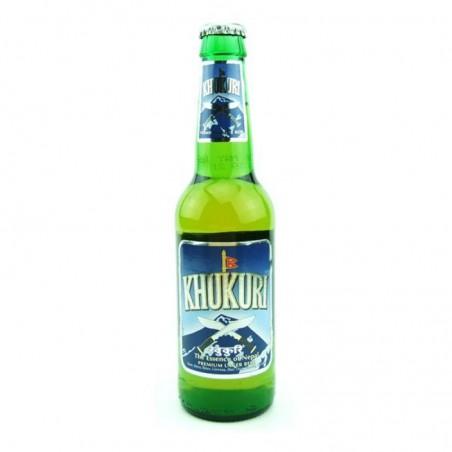 biere - KHUKURI BEER 33CL - Planète Drinks