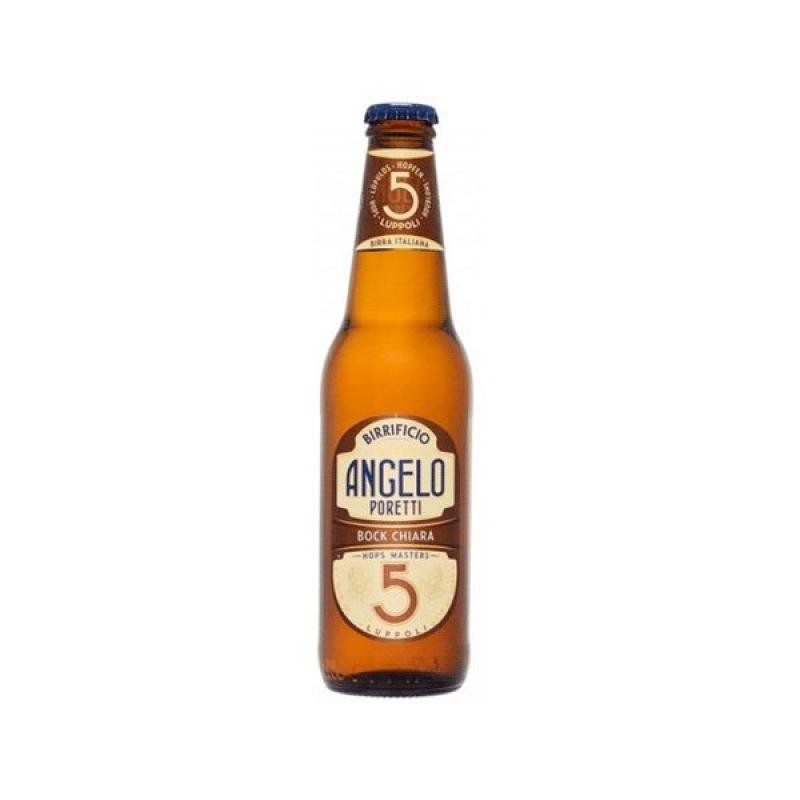 biere - PORETTI 5 LUPPOLI 0.33L - Planète Drinks