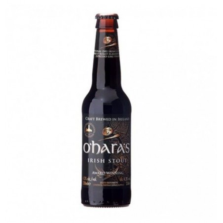 biere - O'HARA'S IRISH STOUT 0.33L MB - Planète Drinks